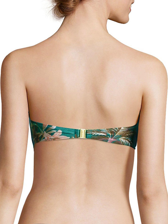 a263795838fd5 Lyst - Zimmermann Two-piece Tropicale Balconette Bikini in Green