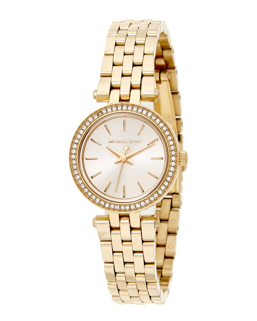 34391915a955 Michael Kors - Metallic Women s Mini Darci Watch - Lyst. View fullscreen