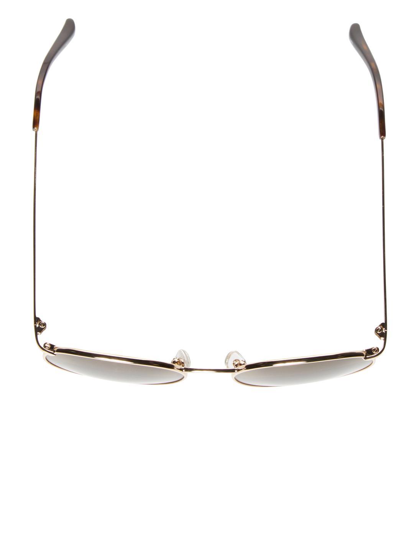 Dries Van Noten 52mm Horn Aviator Sunglasses in Brown