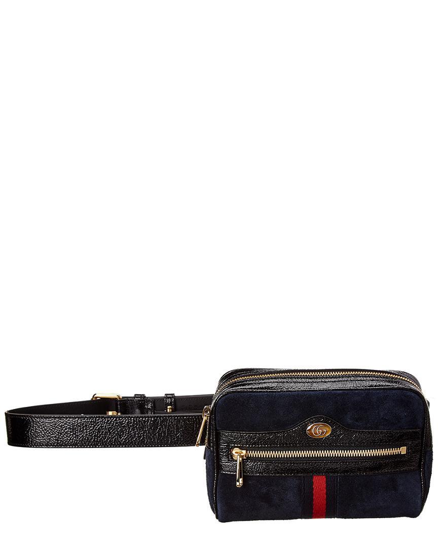0e4db64c02c Gucci Ophidia Mini Suede Belt Bag