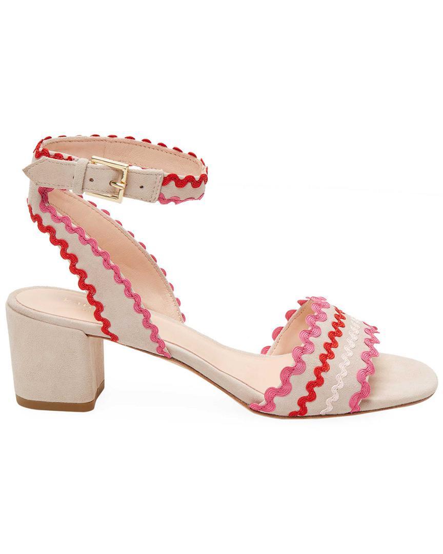 df6ec6c607c0 Kate Spade Piedra Dress Sandal in Pink - Lyst