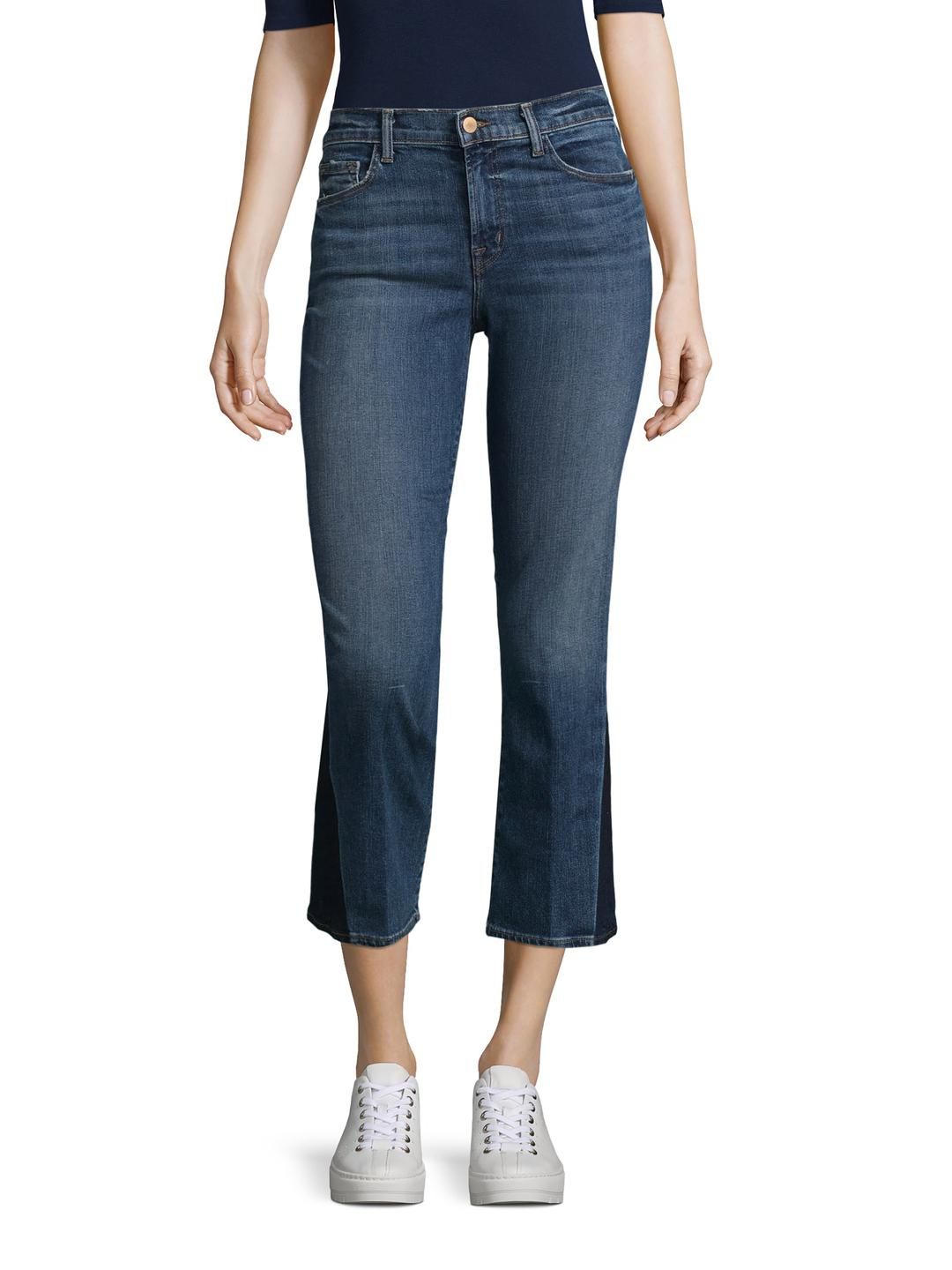 Selena mid-rise cropped jeans - Blue J Brand Sale Best Prices Exclusive For Sale Outlet Geniue Stockist ZivoAMrp6w