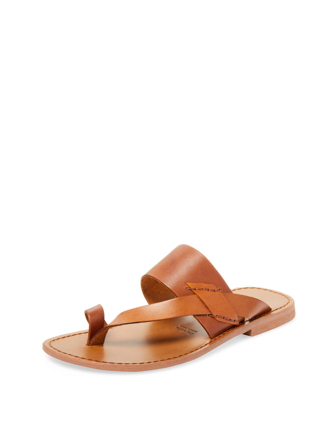 1629be2f901 Lyst - Miramare Italia Toe Ring Thong Sandal in Brown