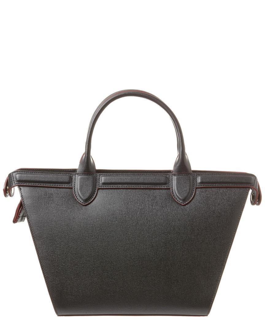 Le Pliage Heritage Medium Leather Tote