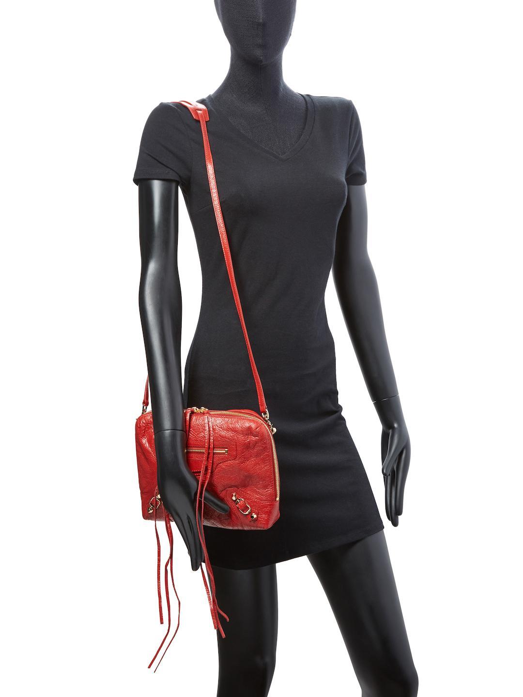 Balenciaga Classic Reporter XS Lamb Leather Crossbody Bag gW2w10