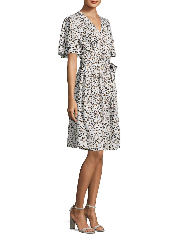 brand: Banjanan Lamu Printed Wrap Dress