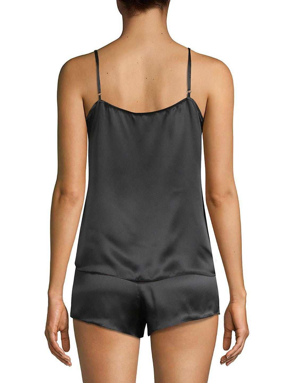 Lyst - Equipment Alexy Two-piece Silk Pajama Set 4d5348391