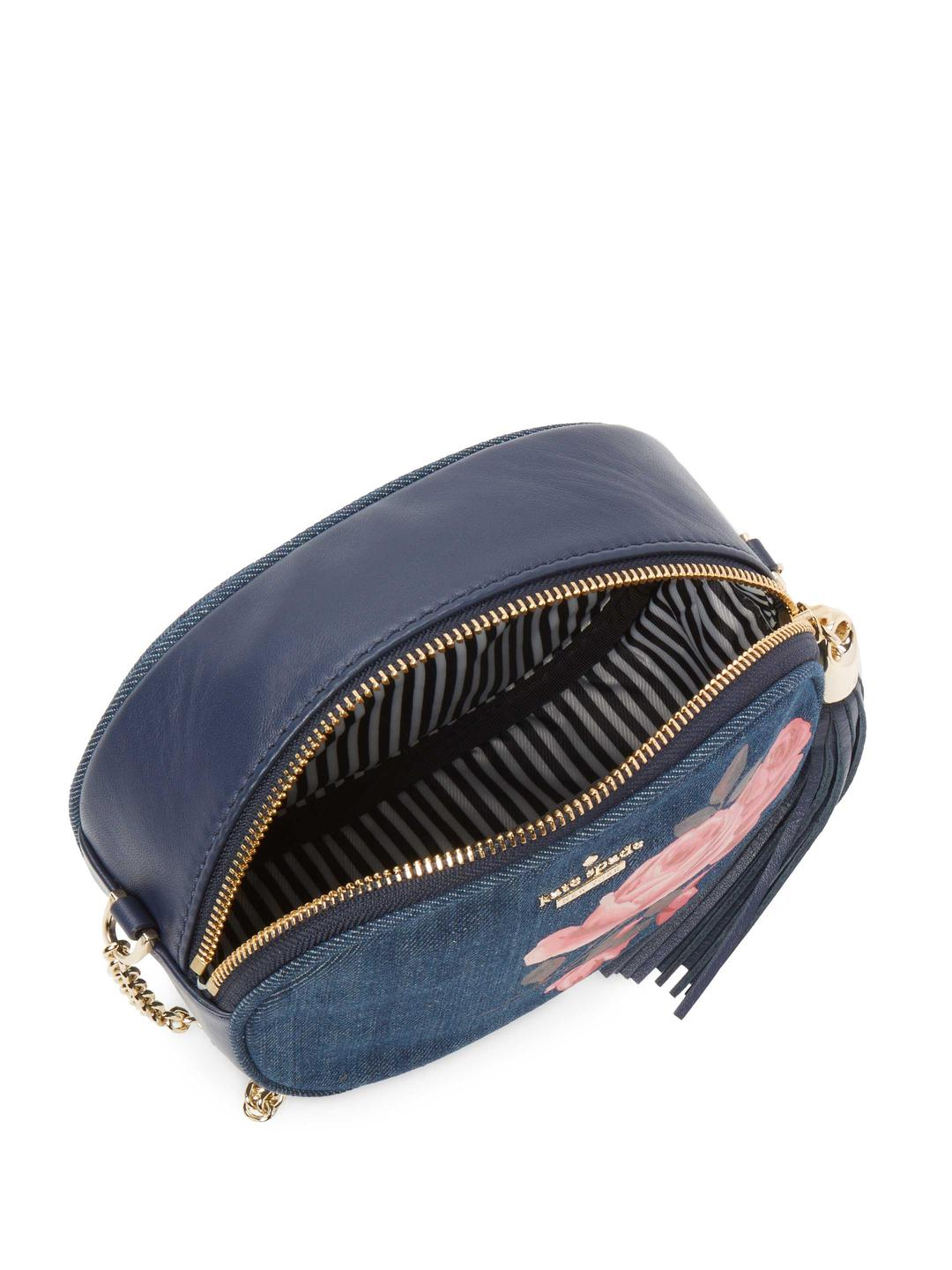 f516a81198 Lyst - Kate Spade Emerson Place Rose Denim Tinley in Blue