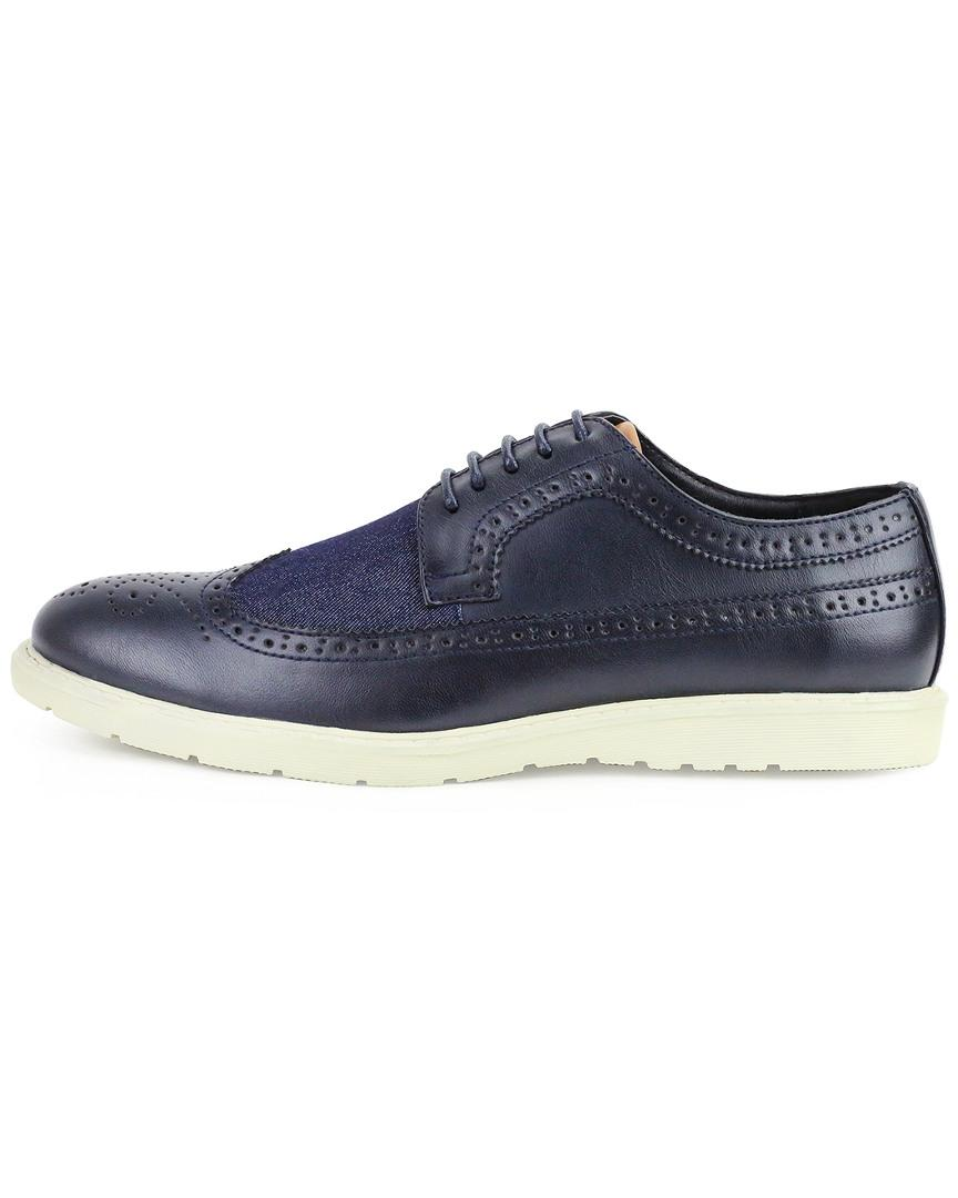 Xray Jeans Hewes Wingtip Casual in Navy/ Denim (Blue) for Men