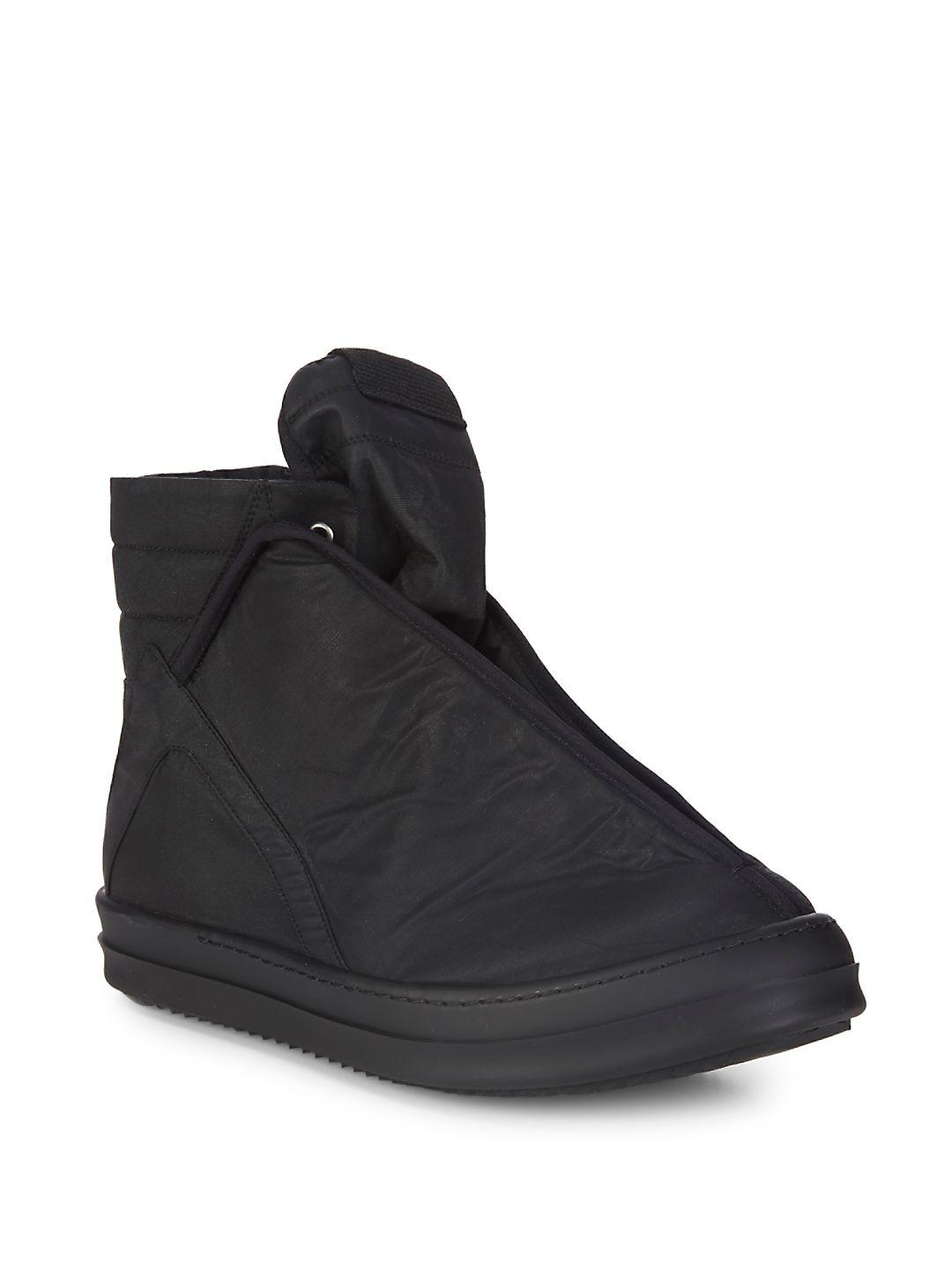 DRKSHDW by Rick Owens - Black Hoofdunks Ankle Boots - Lyst. View  Fullscreen. There was a problem loading this image.