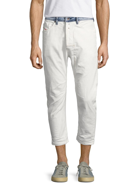 eca1b5a5 DIESEL Narrot L.30 Cropped Jeans for Men - Lyst