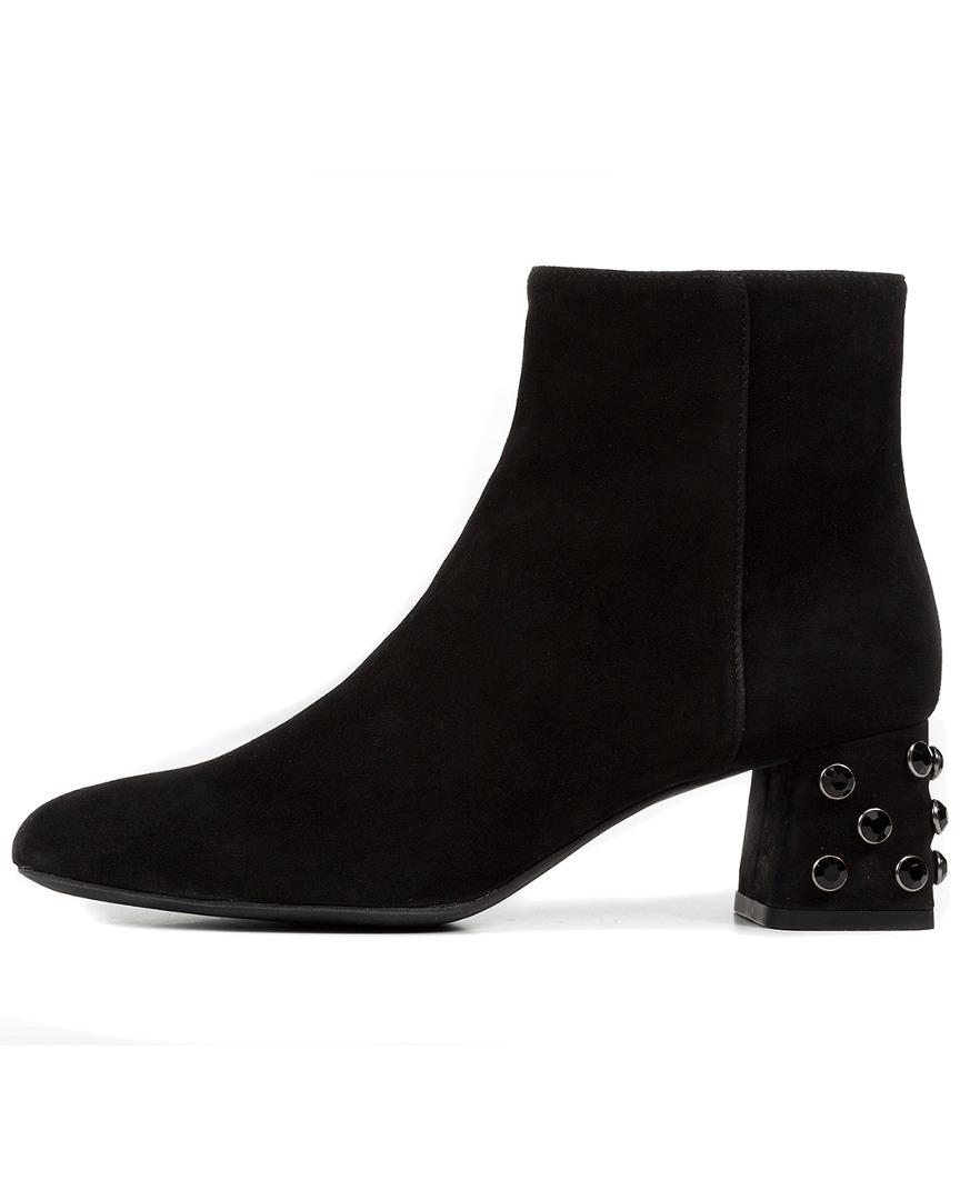 Geox Seyla Ankle Boot in Black - Lyst