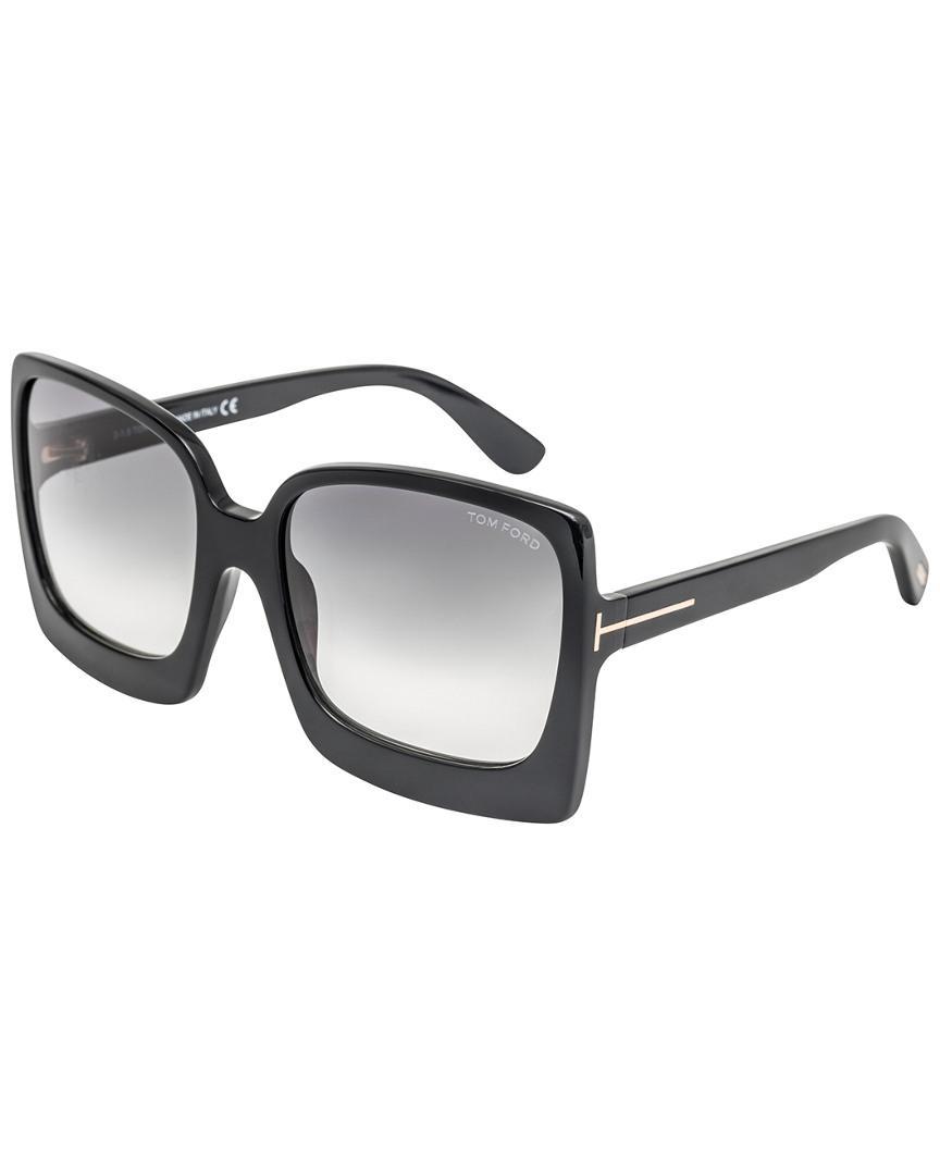 0da556223 Tom Ford Women's Katrine 60mm Sunglasses in Black - Lyst