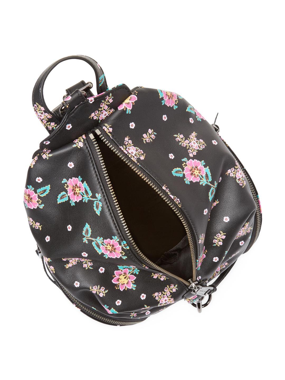 Rebecca Minkoff Synthetic Medium Julian Floral Backpack in Black