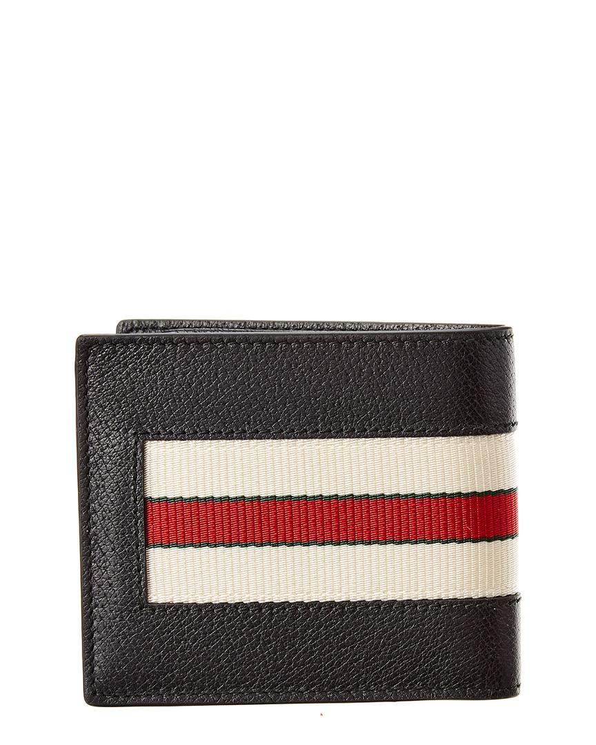 988bafe0ddc0ef Lyst - Gucci Signature Leather Wallet in Black for Men - Save 19%