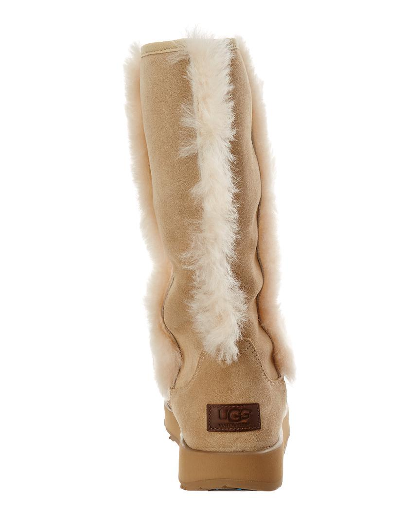 173b21338ea Women's Natural Sundance Waterproof Twinface Sheepskin Boot
