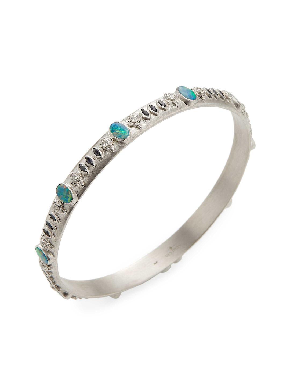 Armenta New World Eternity Diamond Bangle Bracelet 4w8wD5yI