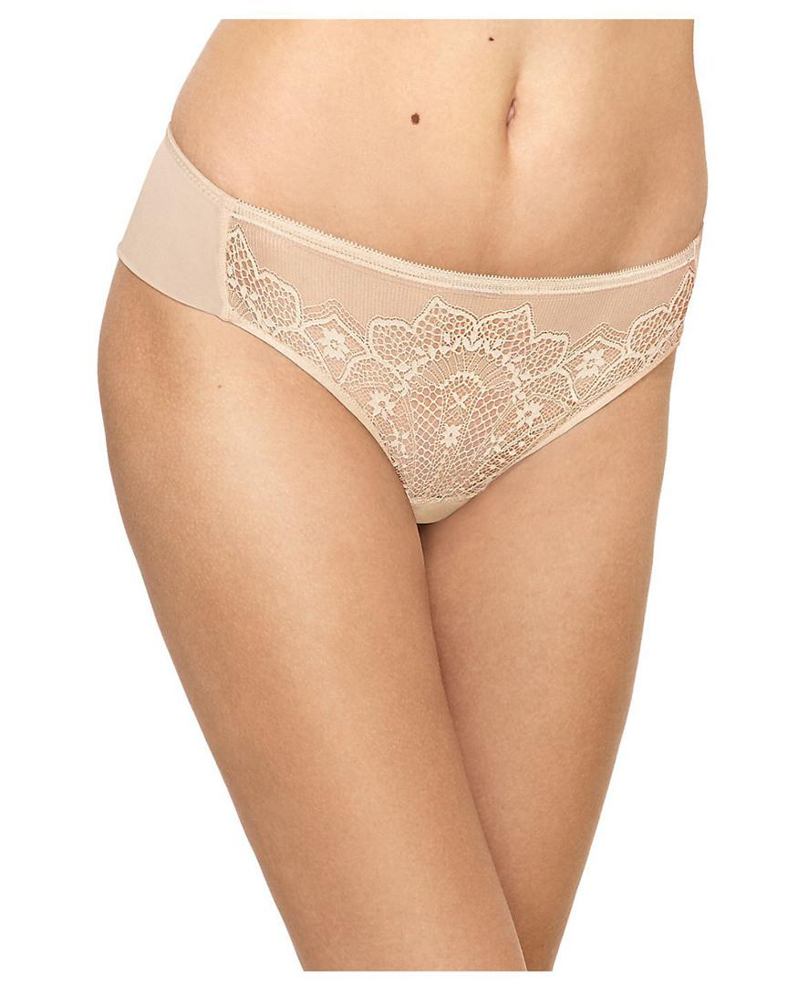 165d3e1839 Lyst - Wacoal Take The Plunge Tanga in Natural