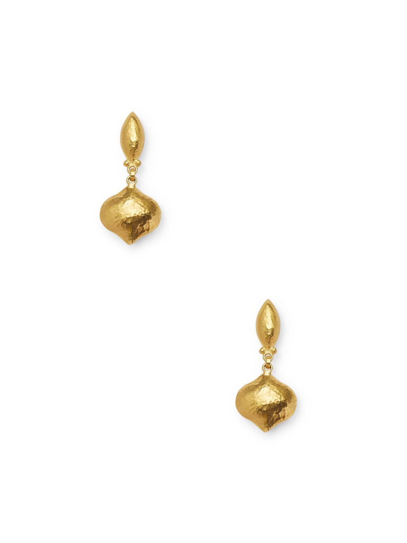 Gurhan Clove 24k Double Long Puff Drop Earrings wEfKAKbr