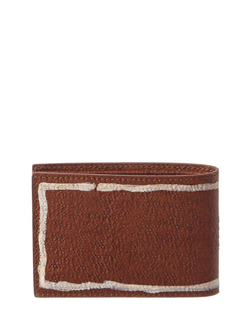 bbdf475f227 Gucci Bee Leather Wallet in Brown for Men - Save 36% - Lyst