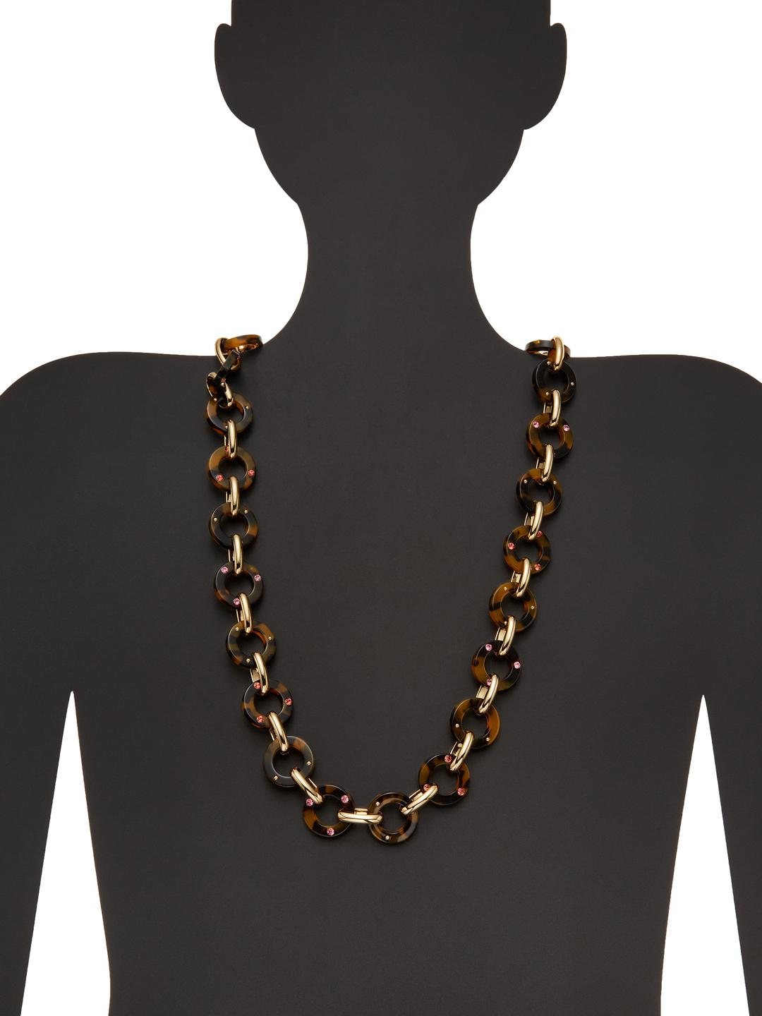 Kate Spade Out Of Her Shell Station Necklace in Metallic