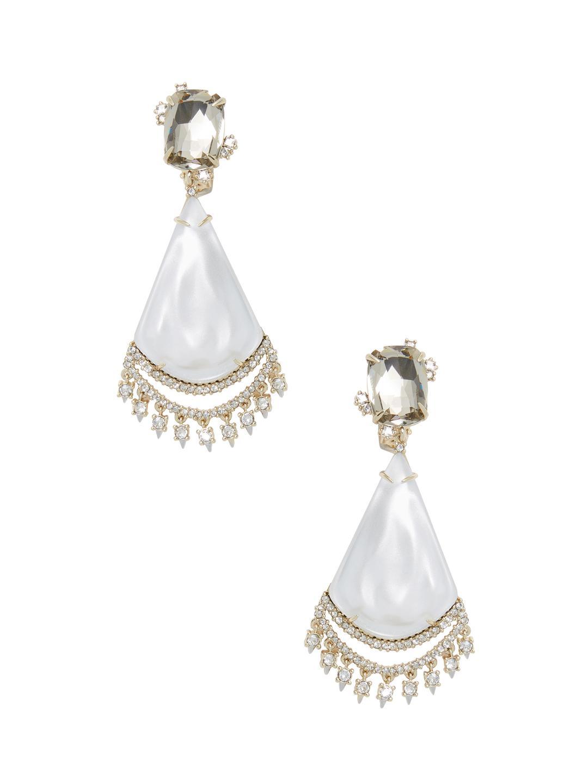 Lyst alexis bittar lucite crystal lace liquid silk chandelier drop view fullscreen arubaitofo Gallery