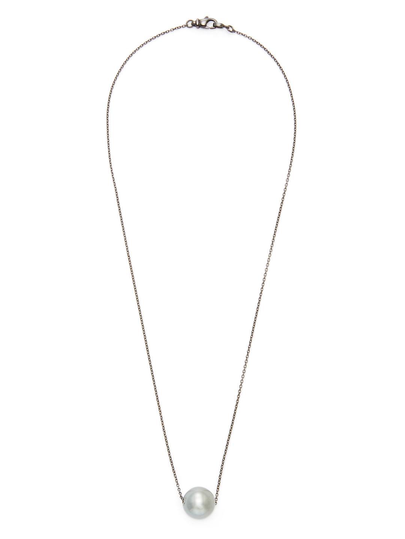 Loree Rodkin Tahitian Pearl Pendant Necklace