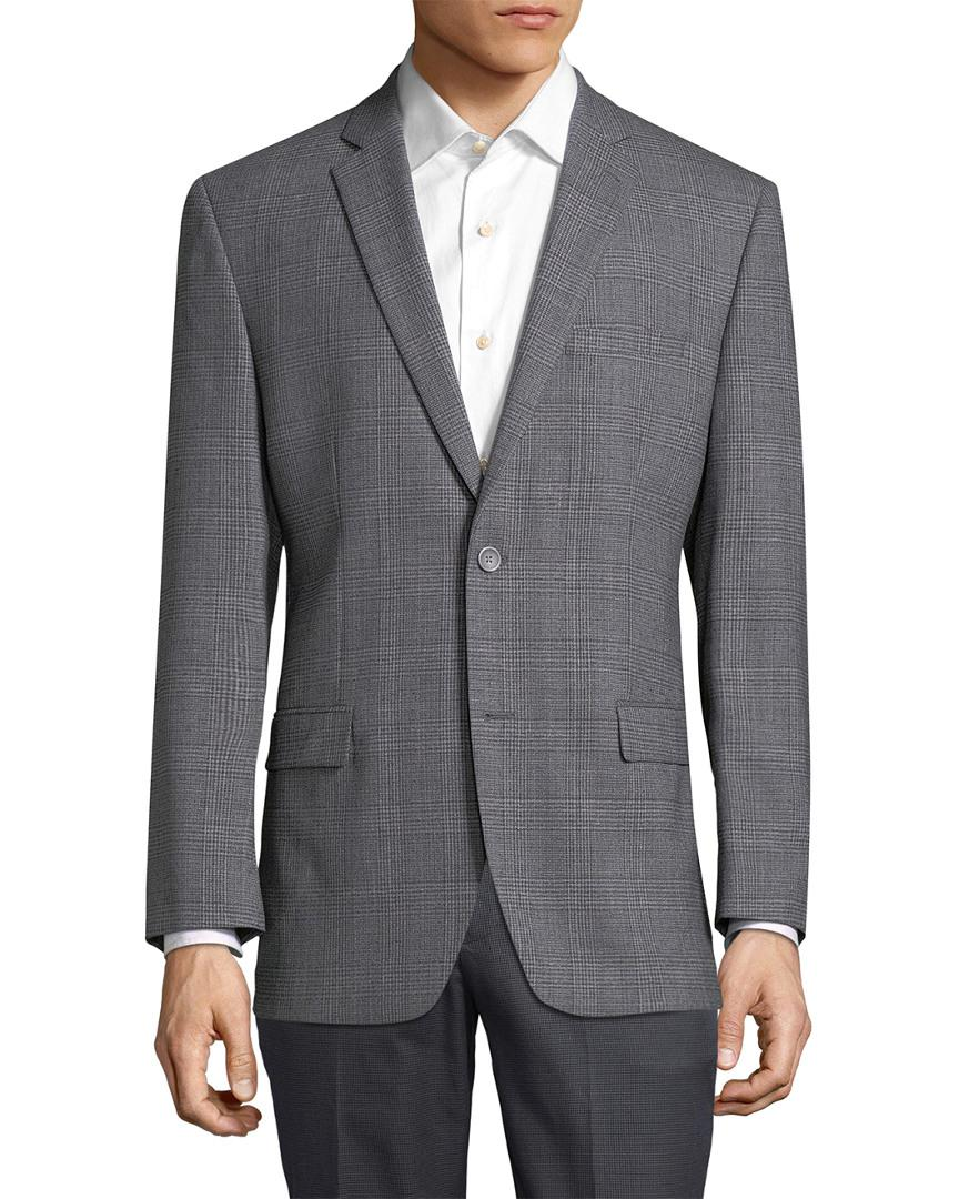 Andrew Marc Marc By Wool Sport Jacket in Light Grey (Grey) for Men
