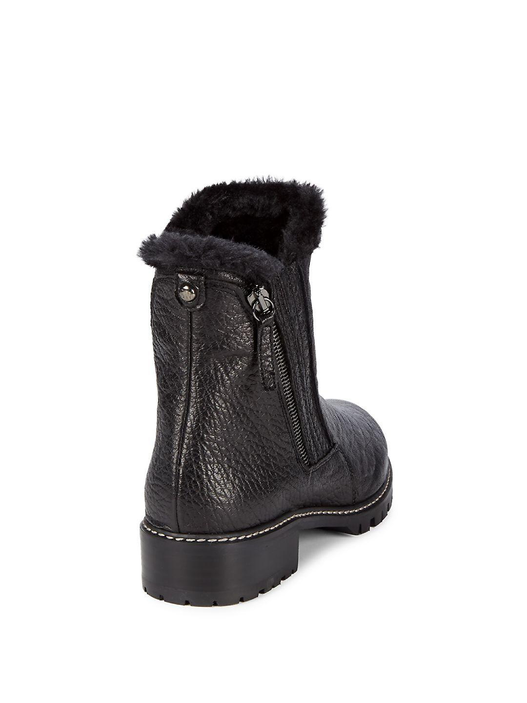 really comfortable meet uk store Faux-fur Lined Ankle Boots
