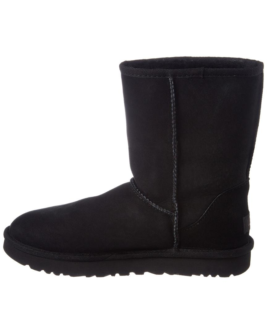 UGG Suede Classic Ii Short Boots in Black