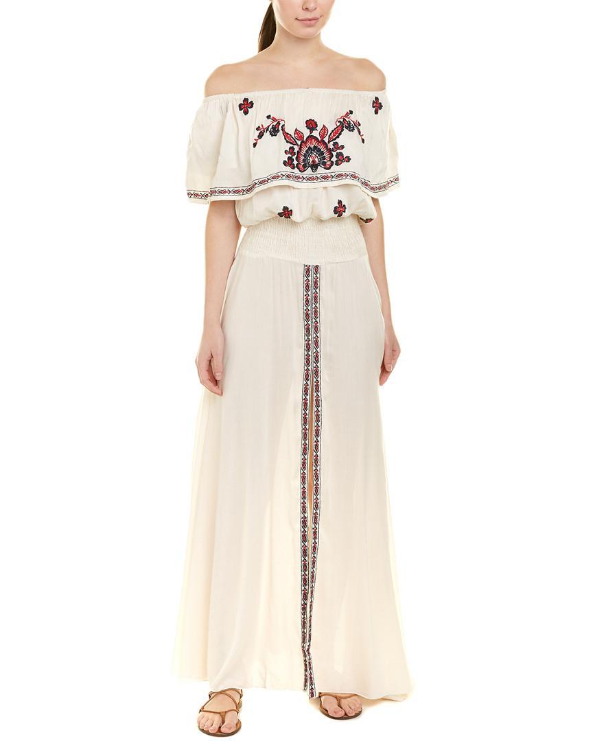 671fbdda8d7 Lyst - Raga Tessi Maxi Dress in White - Save 77%
