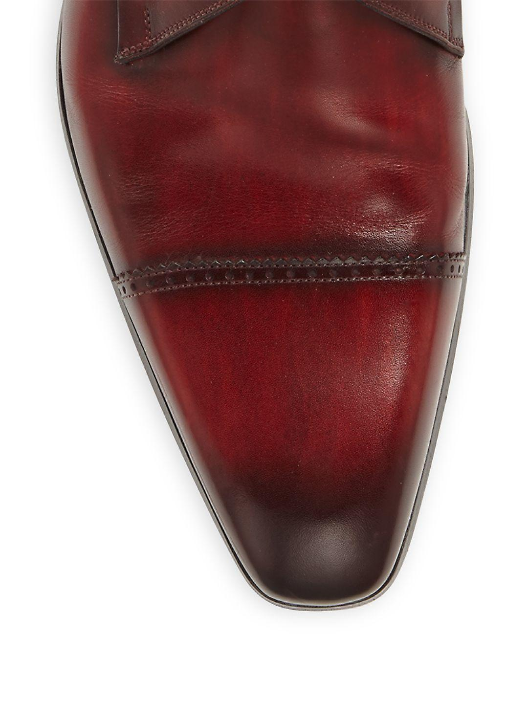 Saks Fifth Avenue COLLECTION Frazier Textured Leather Derby Shoes