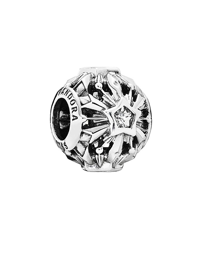 6b962ce0f PANDORA Disney Jewelry Collection Silver Cz Frozen Snowflakes Charm ...