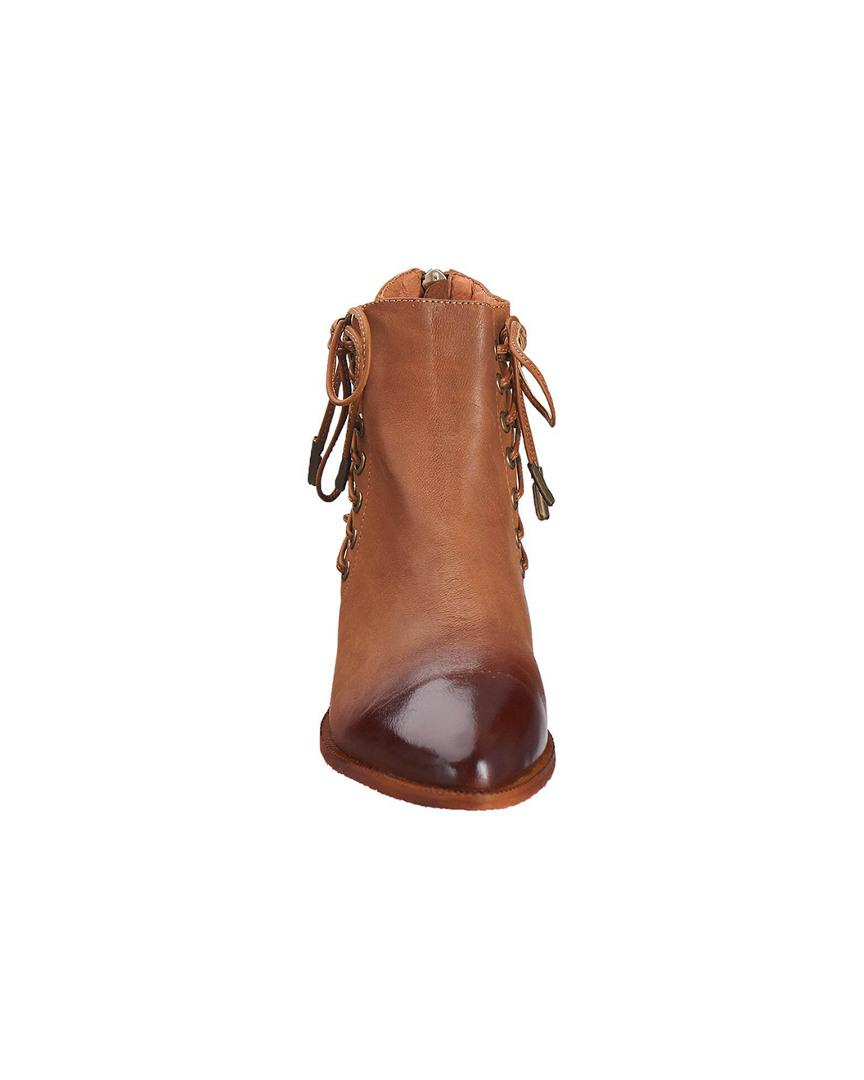 Antelope Womens 341 Leather Side Corset Bootie