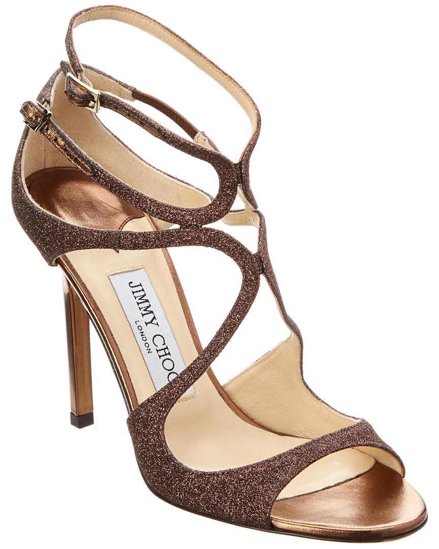 01e0f1f1a98a63 Jimmy Choo Paloma Lang Heeled Sandals in Brown - Save 67% - Lyst