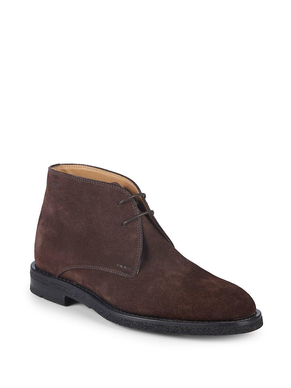Bally Rhimar Suede Chukka Boots in