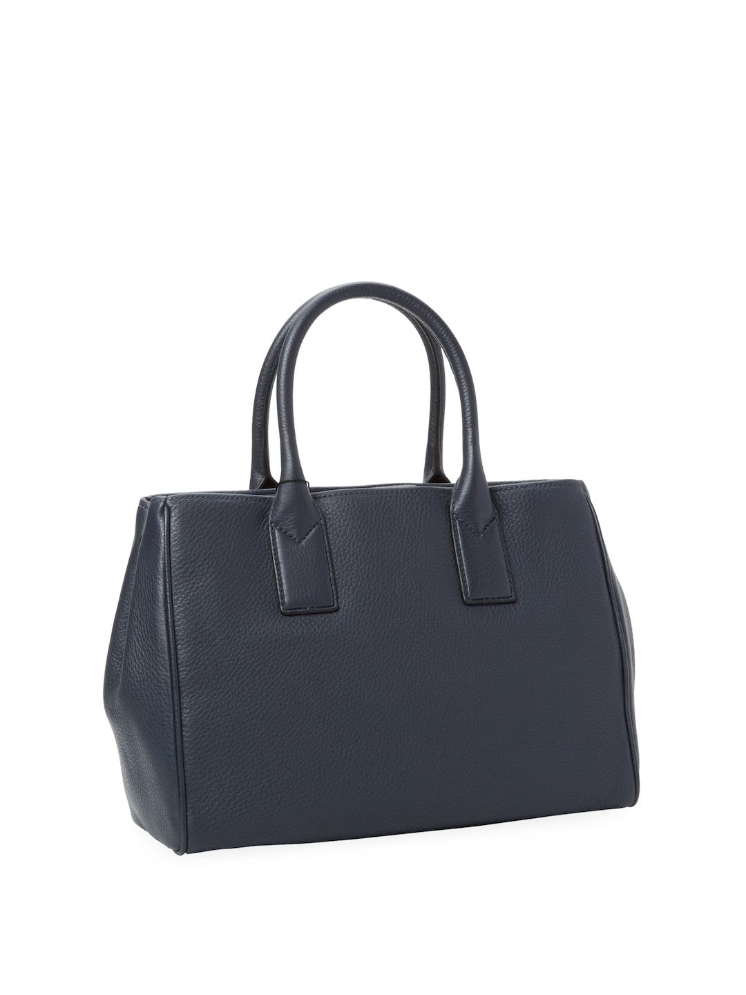 Marc Jacobs Leather Empire City Tote in Steel Grey (Grey)