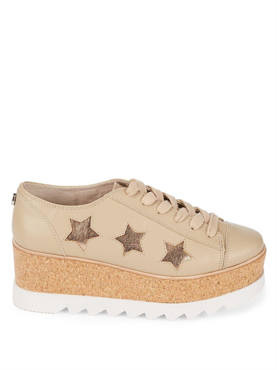Steve Madden Kaya Low-top Platform Sneakers in Natural
