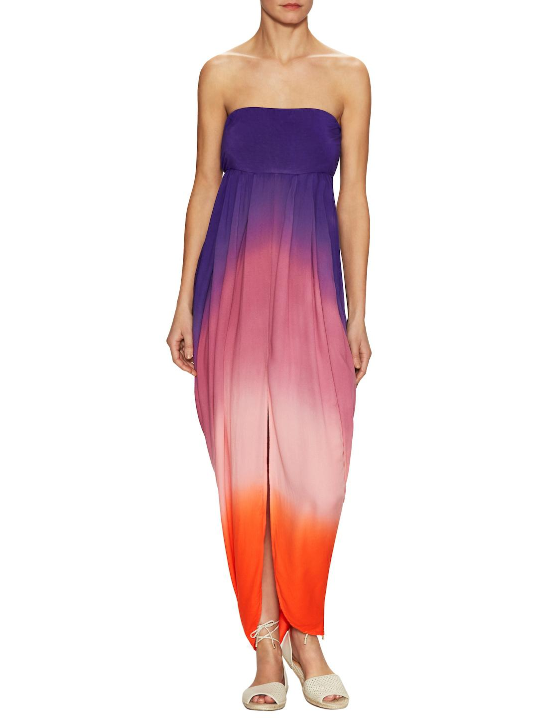 ee6a5b09b865b Young Fabulous & Broke Neve Strapless Ombre Maxi Dress in Purple - Lyst