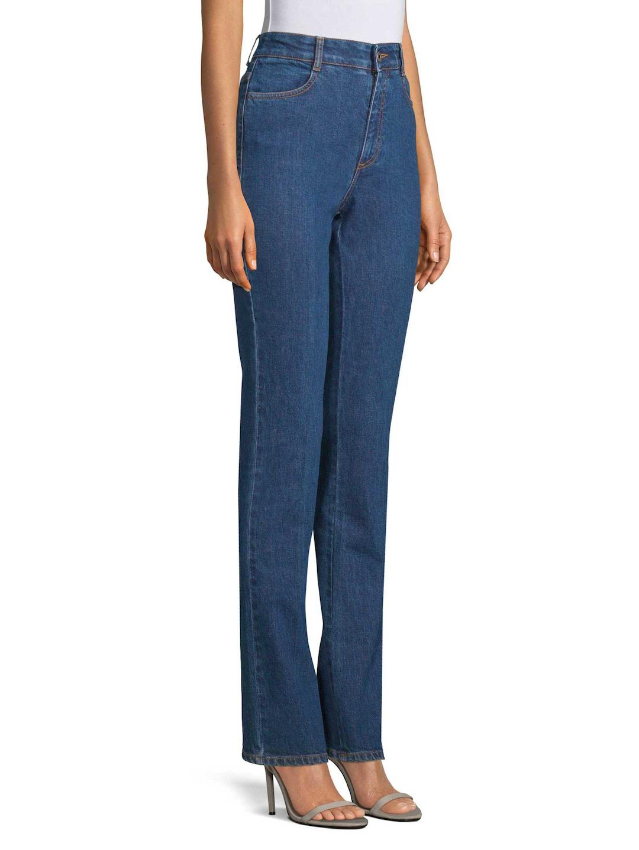 Stella McCartney Denim Straight-leg Jeans in Blue