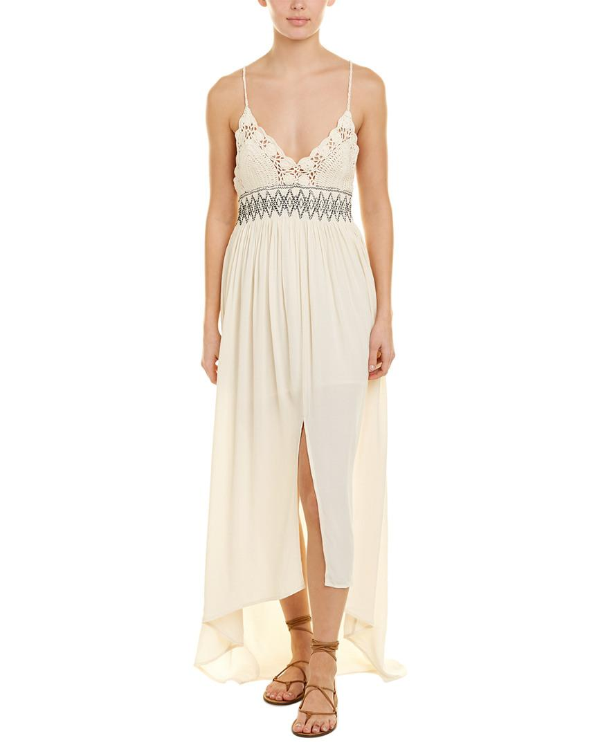 f397f26abe58 Lyst - Astr The Label Paola Maxi Dress in White