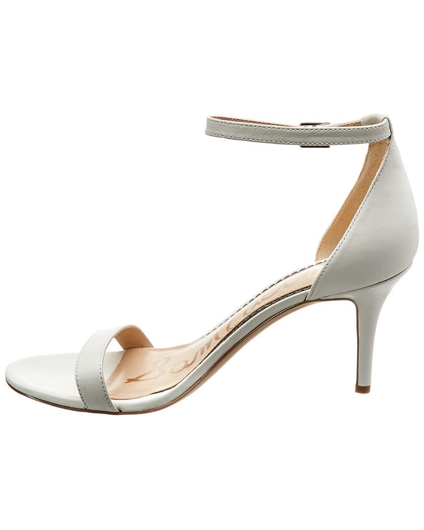 3111de20f548ec Lyst - Sam Edelman Patti Dress Sandal in White - Save 51%