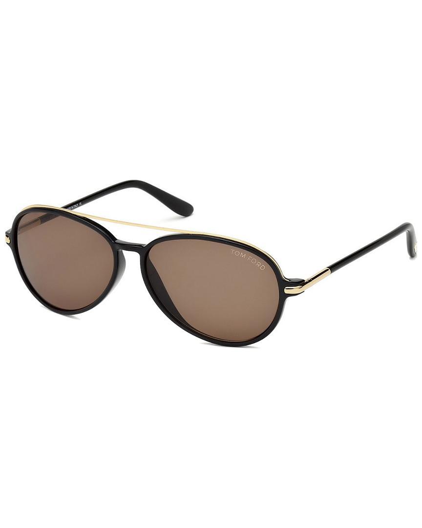 231c8f47206 Tom Ford - Brown Men s Ramone 58mm Sunglasses for Men - Lyst. View  fullscreen