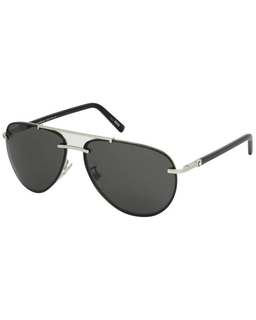 322afb5b56 Montblanc Mont Blanc Men s Mb596s 62mm Sunglasses for Men - Lyst