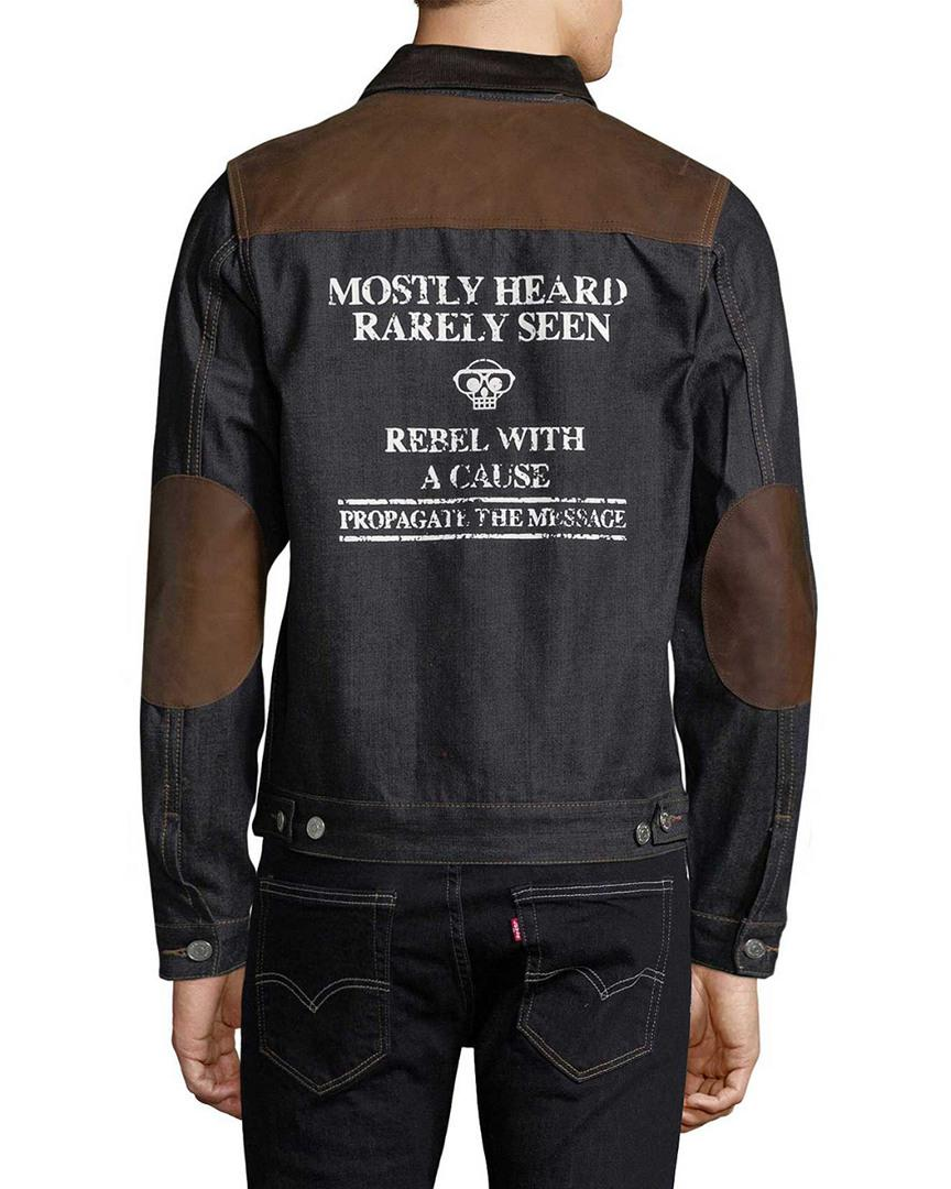 Mostly Heard Rarely Seen Cotton Kennedy Jacket for Men