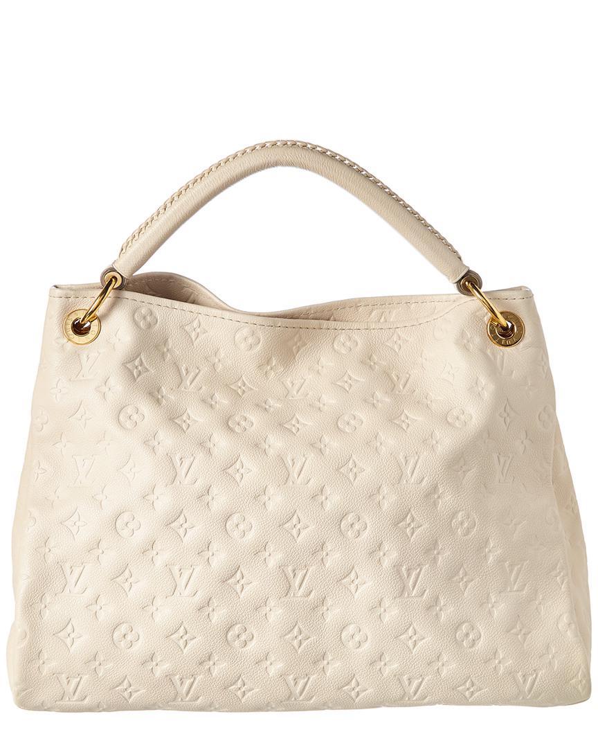 ... 86f2e 45423 Louis Vuitton White Monogram Empreinte Leather Artsy Mm in  White - Lyst newest  241cc 25453 View 1 - Women ... 30ad26de6a