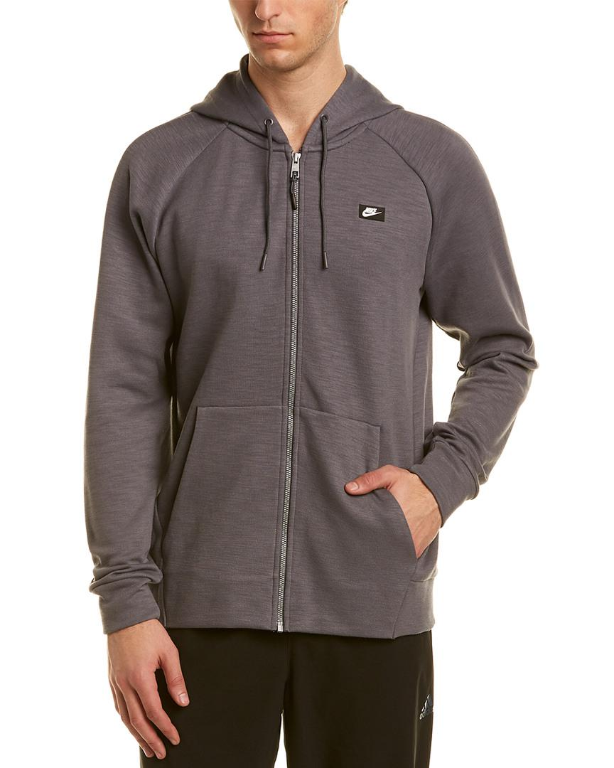f86bfe96 Nike Optic Hoodie in Gray for Men - Save 3% - Lyst