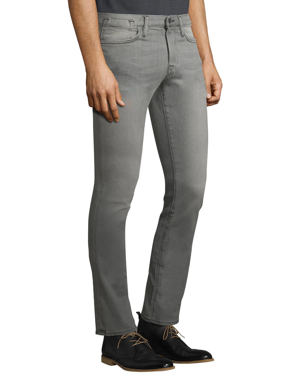 John Varvatos Denim Bowery Fit Slim Jeans in Grey (Grey) for Men