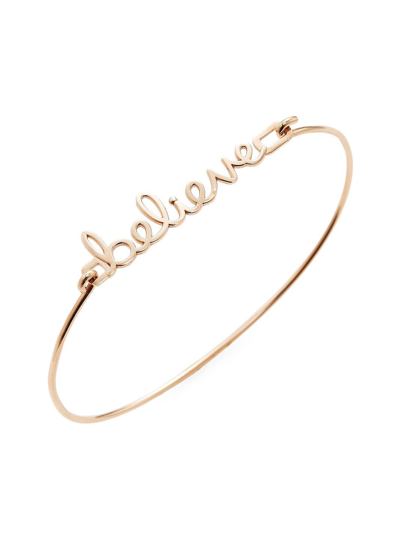 Sydney Evan 14k Pure Rose Gold Kiss Bracelet l173jL7xYb