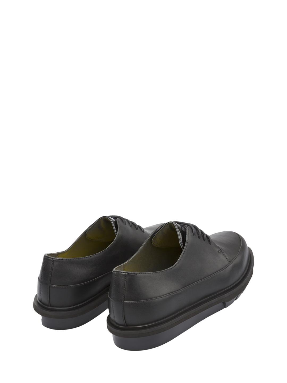Camper Leather Mateo Derby Shoe in Black for Men